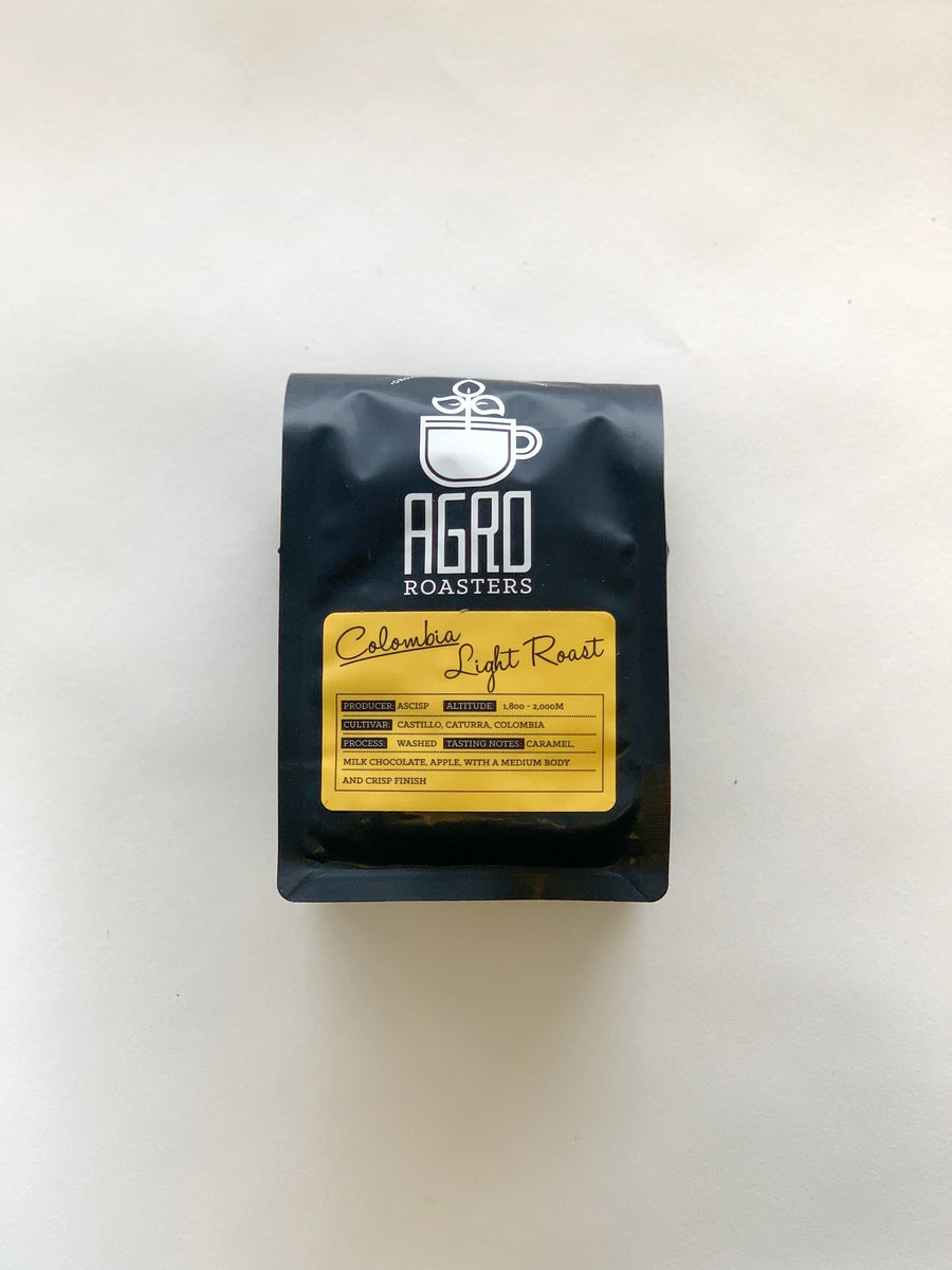 Agro Roasters - Columbia Light Roast - 340g Pantry Agro Roasters