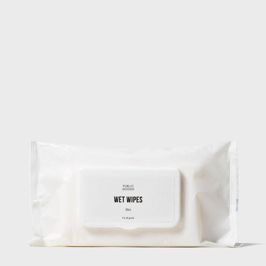 Bamboo Wet Wipes 50 ct Personal Care Public Goods