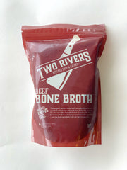 Beef Bone Broth (Frozen) - 750 ml Protein Two Rivers Meats North Vancouver