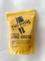 Chicken Bone Broth (Frozen) - 750 ml Protein Two Rivers Meats North Vancouver