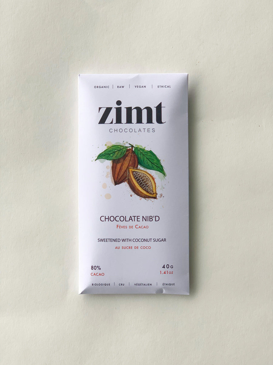 Chocolate Nib'd - 40g Bakery Zimt Chocolates