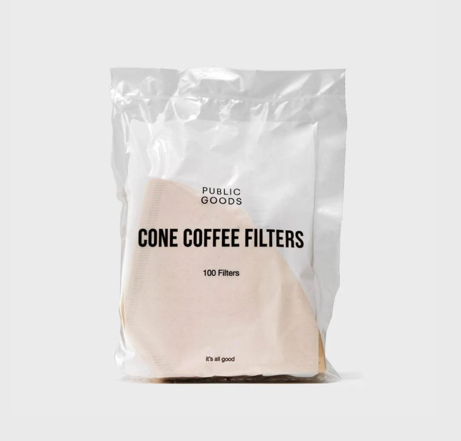Coffee Filer Cones - 100 pieces Personal Care Public Goods