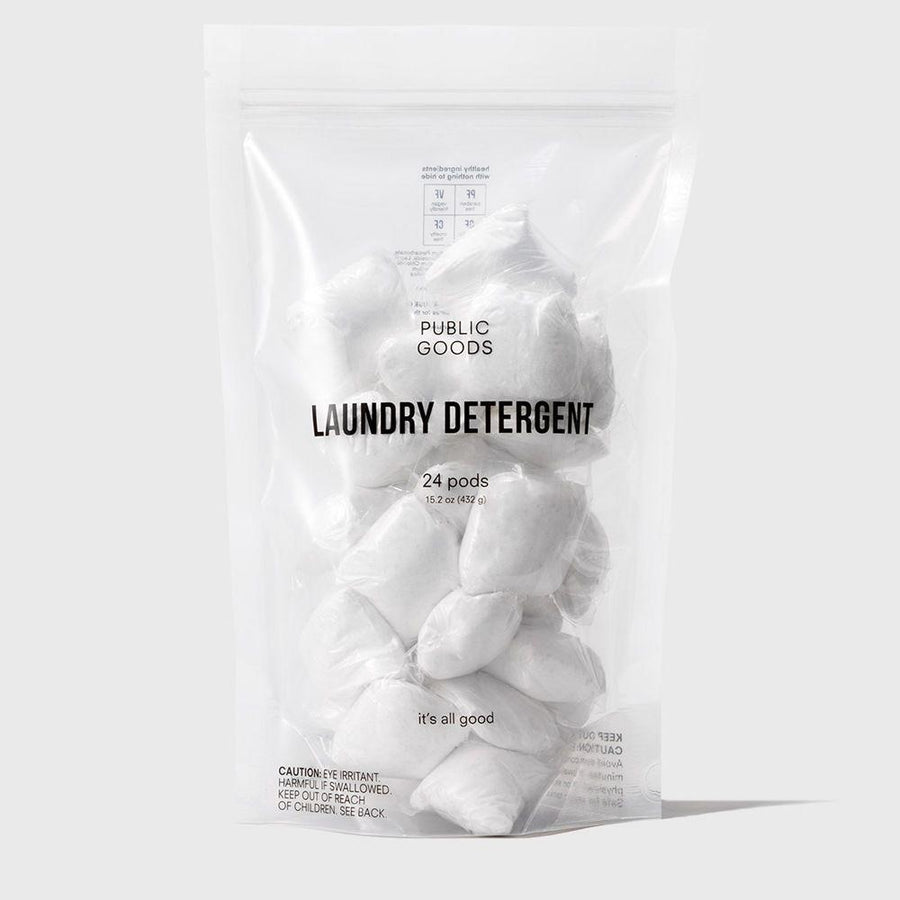 Laundry Detergent Pods 24 ct Household Public Goods