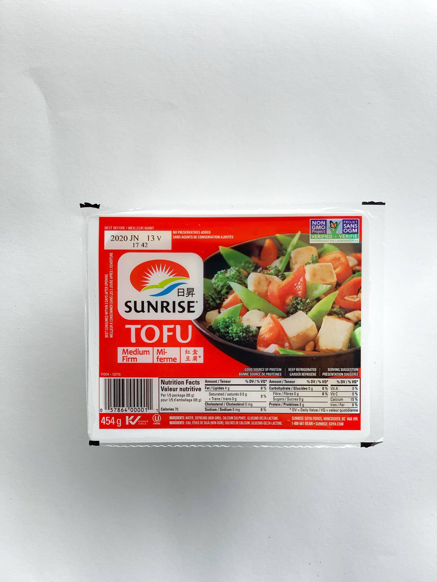 Medium Firm Tofu - 454 g Protein Sunrise