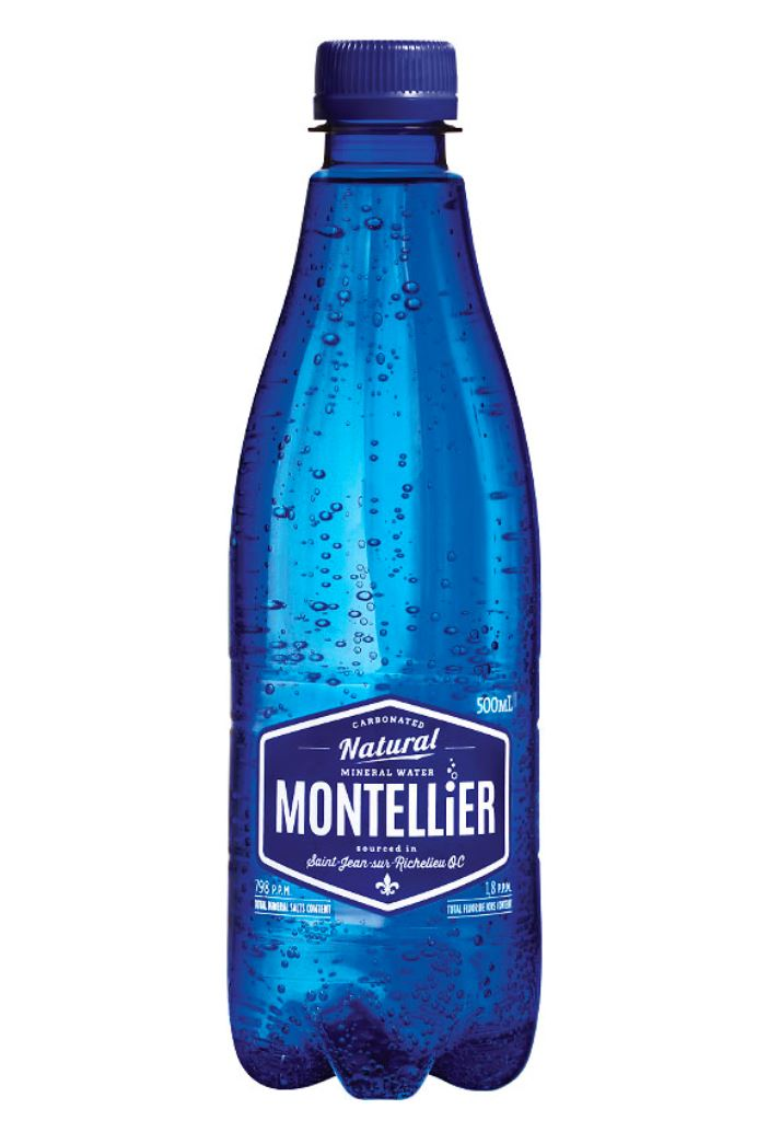 Montellier Carbonated Natural Spring Water - 500ml non-alcoholic drink Montellier