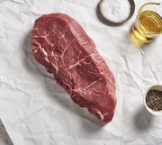 Organic Cache Creek Striploin Steak -1 piece (Frozen) - Approx. 240g Protein Two Rivers Meats North Vancouver
