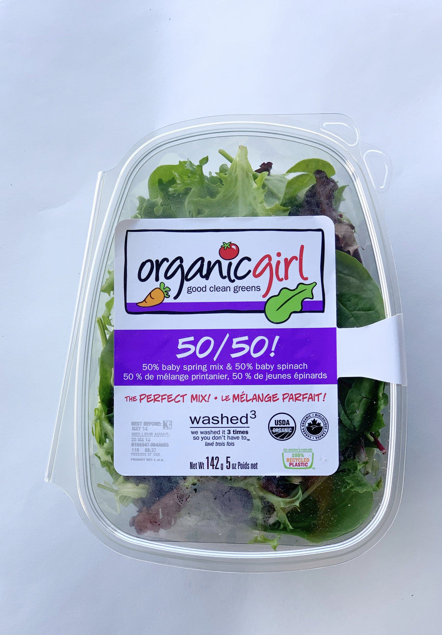 Organic Salad Greens - 5oz Produce Organic Girl