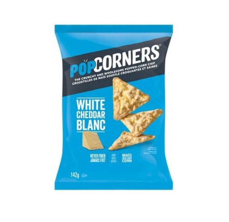 PopCorners White Cheddar Chips - 142g Snacks PopCorners