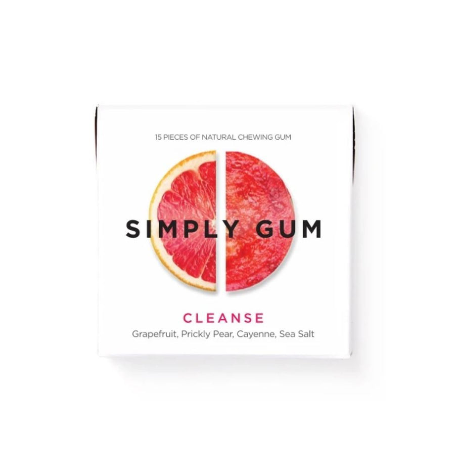 Simply Gum - Grapefruit (15 pieces) Snacks Simply Gum