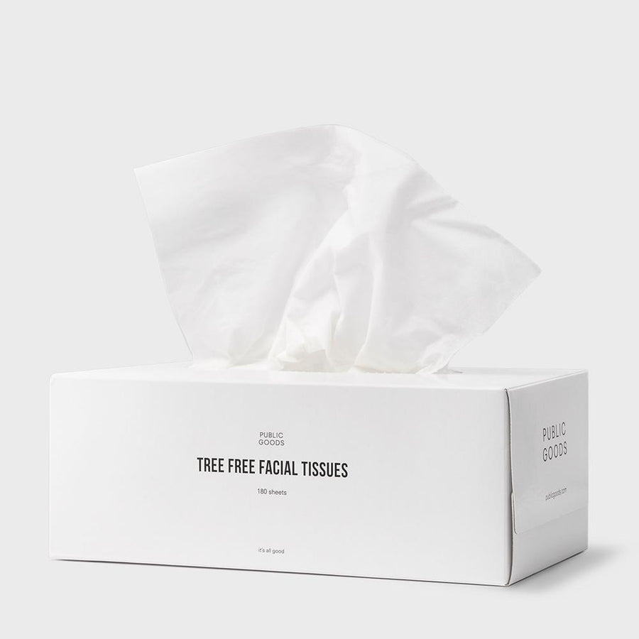 Tree Free Tissues 180 ct Household Public Goods