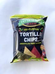 Tri-Flavour Tortilla Chips - 155g Snacks Fresh is Best