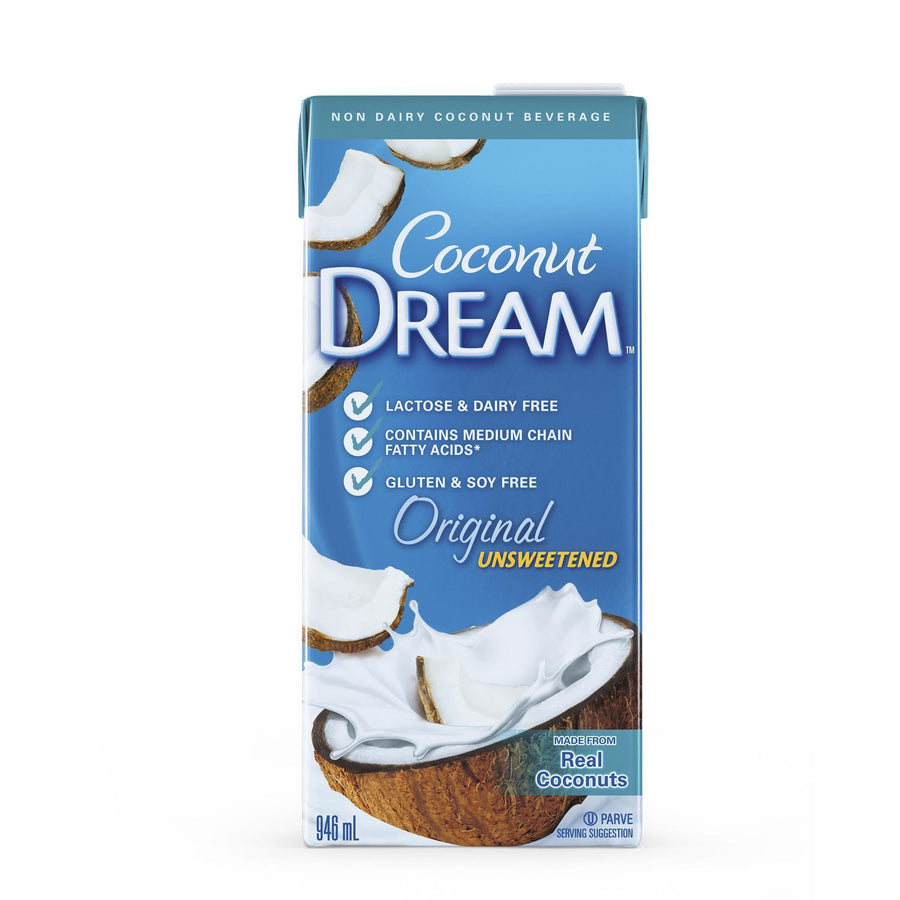 Unsweetened Coconut Milk - 946 mL Dairy Coconut Dream
