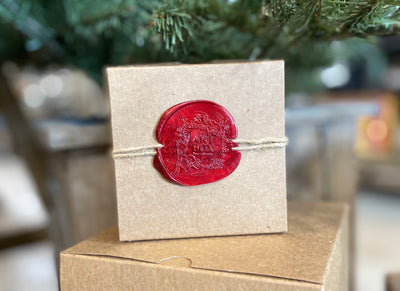 Unique Wax Seal Gift Wrap