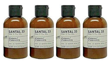 Load image into Gallery viewer, Le Labo Santal 33 Shampoo - Set of 4 - Plus Amenity Pouch