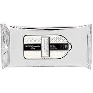 Beekman 1802 Oak Moss Facial Cleansing Wipes