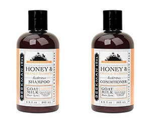 Beekman 1802 Honey & Orange Blossom Shampoo & Conditioner Set - 8.9 Ounces Each