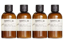 Load image into Gallery viewer, Le Labo Santal 33 Body Lotion - Set of 4- Plus Amenity Pouch