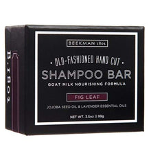 Load image into Gallery viewer, Beekman 1802 Fig Leaf Shampoo Bar - 3.6 Ounces
