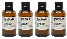 Load image into Gallery viewer, Le Labo Santal 33 Shower Gel - Set of 4 - Plus Amenity Pouch