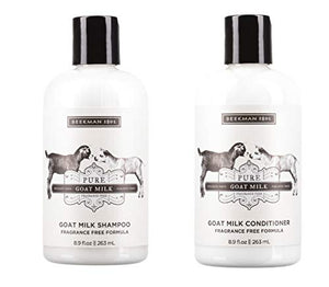 Beekman 1802 Pure Goat Milk Shampoo & Conditioner Set - 8.9 Fluid Ounces Each