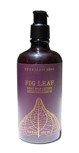 Beekman 1802 Fig Leaf Goat Milk Lotion 12.5 ounces