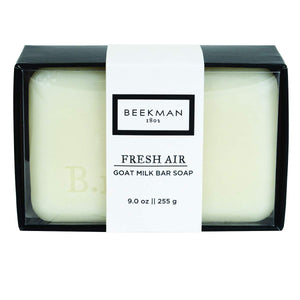 Beekman 1802 Fresh Air Goat Milk Bar Soap -  9 Ounces
