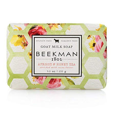 Load image into Gallery viewer, Beekman 1802 Apricot & Honey Tea Goat Milk Bar Soap - 9 oz.
