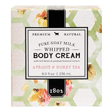 Load image into Gallery viewer, Apricot & honey Tea Whipped Body Cream 8.0 fl oz.