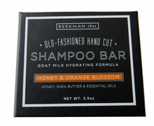 Load image into Gallery viewer, Beekman 1802 Honeyed & Orange Blossom Old Fashion Hand Cut Shampoo Bar - 3.5 oz.