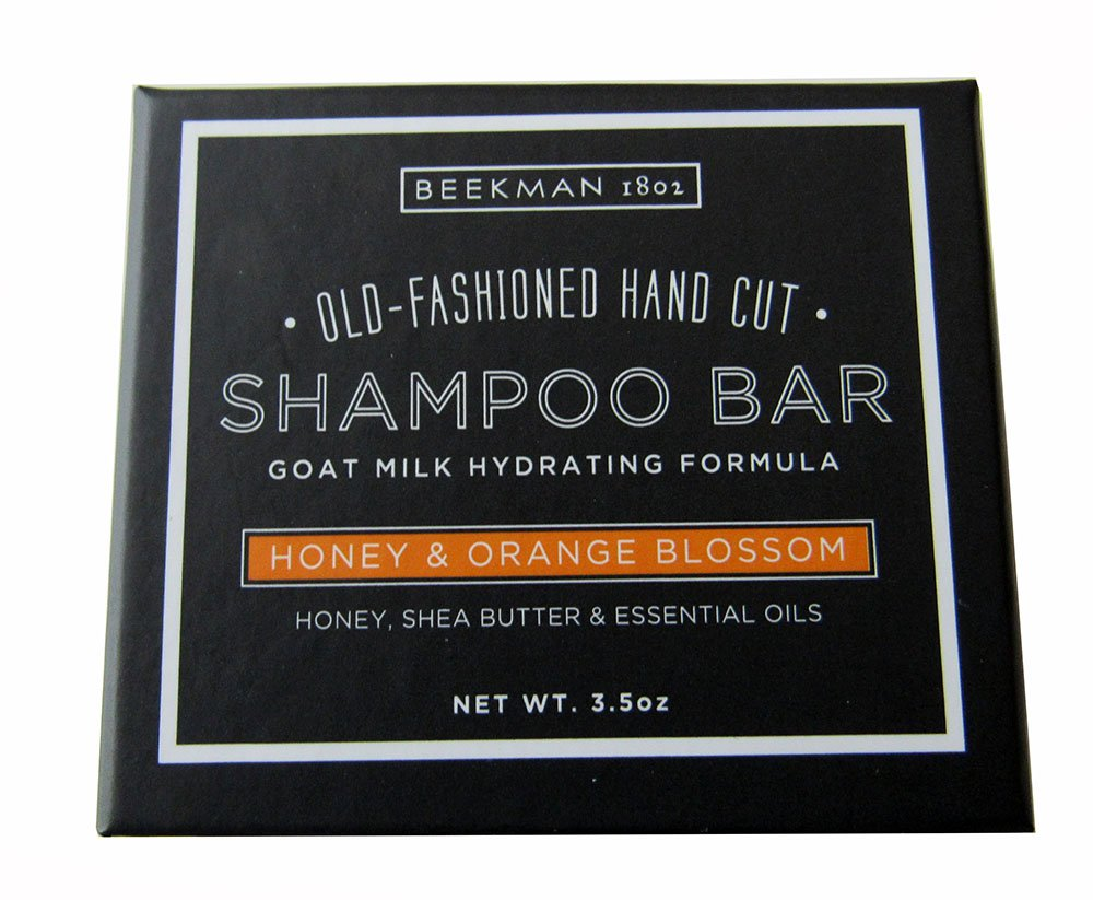 Beekman 1802 Honeyed & Orange Blossom Old Fashion Hand Cut Shampoo Bar - 3.5 oz.