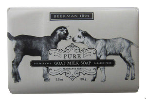 Beekman 1802 Pure Goat Milk Soap Fragrance Free - 9.0 Ounces