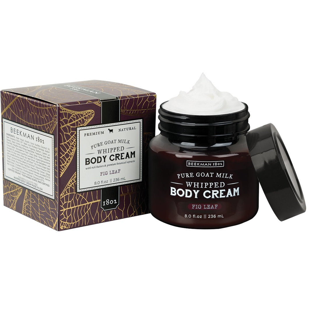 Beekman 1802 Fig Leaf Whipped Body Cream - 8.0 fl. oz.