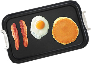 Viking Culinary 40051-1218 Hard Anodized Double Burner Nonstick Griddle, 18 Inch by 11 Inch