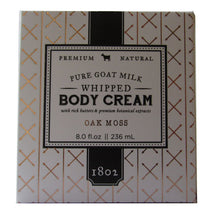 Load image into Gallery viewer, Beekman 1802 Oak Moss Pure Goat Milk Whipped Body Cream - 8.0 fl oz.