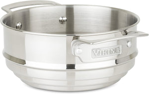 Viking Culinary 40051-6908 Stainless Steel Universal Steamer Insert, 8