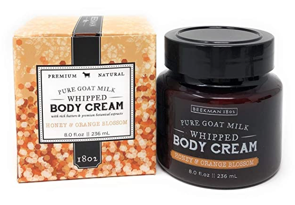 Beekman 1802 Honey & Orange Blossom Whipped Body Cream - 8 Fluid Ounces