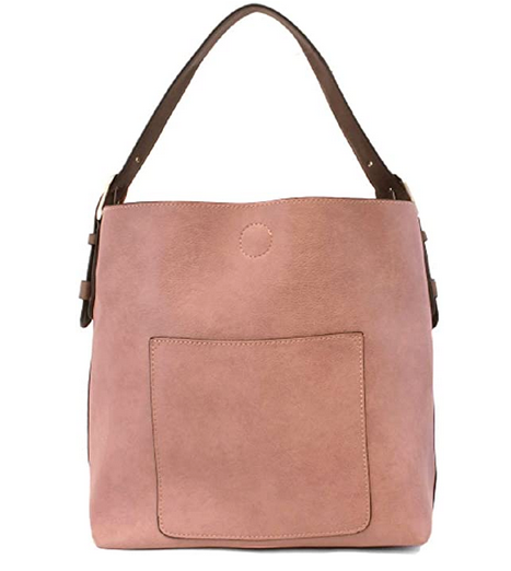Joy Susan Women's Classic Hobo 2-in-1 Handbag - Mauve