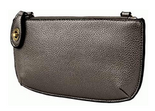Load image into Gallery viewer, Joy Susan Mini Crossbody Wristlet Clutch - Metallic Pewter