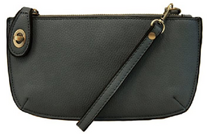 Joy Susan Mini Crossbody Wristlet - Dark Cyan