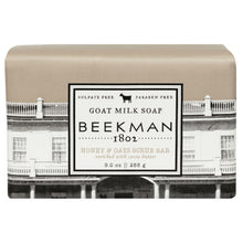 Load image into Gallery viewer, Beekman 1802 Honey & Oats Goat Milk Bar Soap  - 9 Ounces