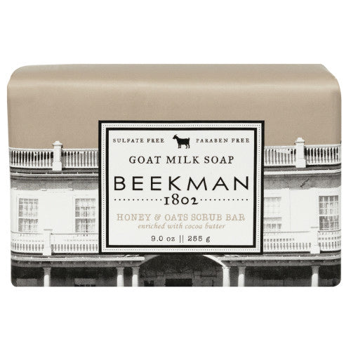 Beekman 1802 Honey & Oats Goat Milk Bar Soap  - 9 Ounces