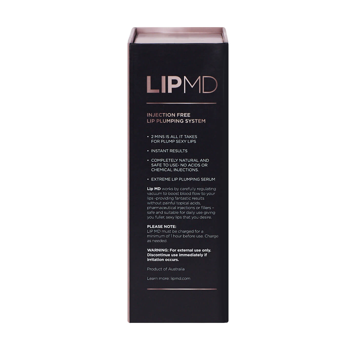 AWARD-WINNING ELECTRONIC LIP PLUMPING DEVICE + EXTREME LIP PLUMPING SERUM