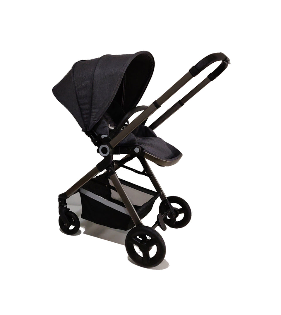 3 in 1 Stroller, Carrycot and Citi Car Seat - AlfaKids