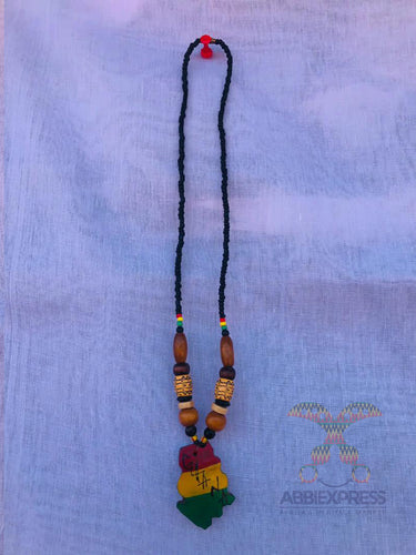 Traditional beaded necklace with signature