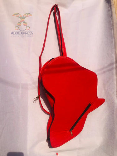 African Print handbag (Red Hot Bag)