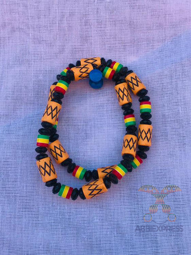 Traditional colourful beaded bracelet_1