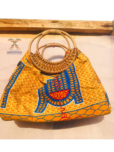 Ankara With Cane Handle