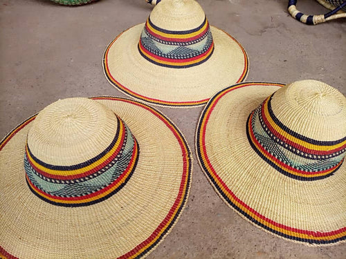 African Hand Woven Hat