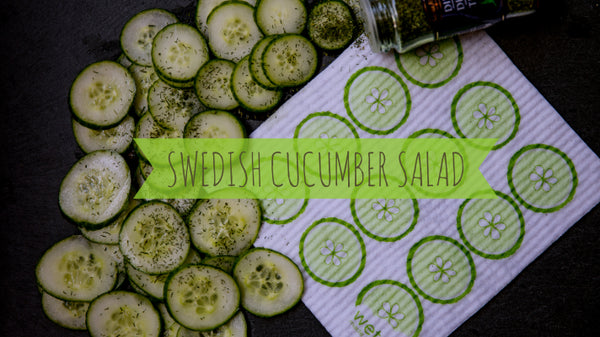 Fresh Swedish Cucumber Salad
