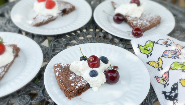 Simple Swedish Kladdkaka